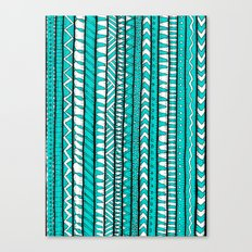 Rustic Turquoise Canvas Print