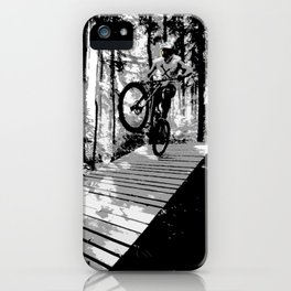 Biker iPhone Case