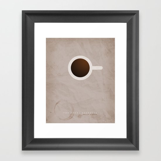 SMOOTH MINIMALISM - Usual Suspects Framed Art Print