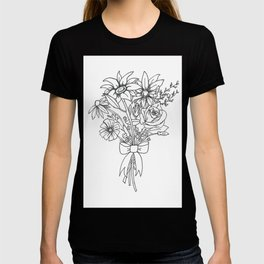 chlorophyll clots (white) T-shirt