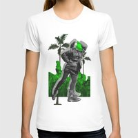 moscow T-shirts featuring Moscow Jungles by Tate Bacalao