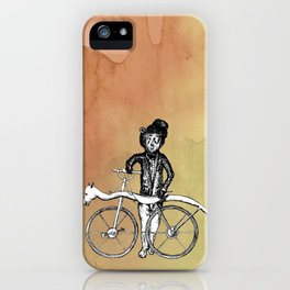 Bear's Bike iPhone Case