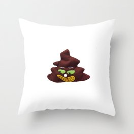 poop poo pee Throw Pillow