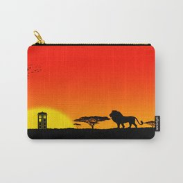 Tardis Sunset Carry-All Pouch