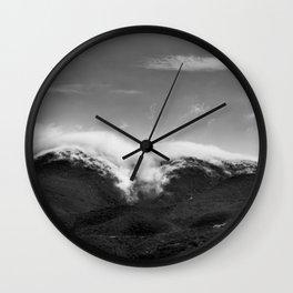 CLOUD WRAP Wall Clock
