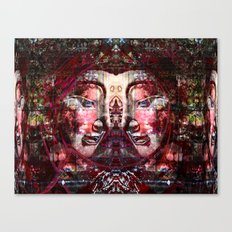 TWIN Buddha 09-05-2010 Canvas Print