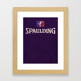 Capt. Spaulding Athletic Apparel Framed Art Print