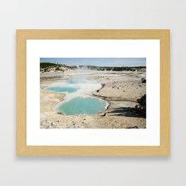 Yellowstone National Park, Wyoming Framed Art Print