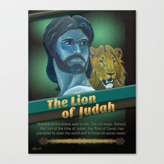 The Lion Of Judah 1 Canvas Print