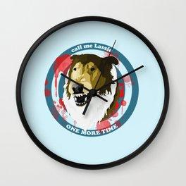 Call Me Lassie Wall Clock