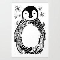 Penny Gwen Art Print