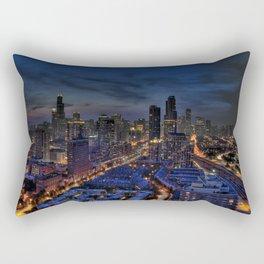 The City Of Big Shoulders Rectangular Pillow