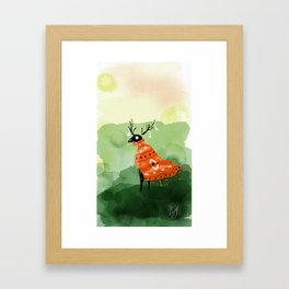 Patterns In The Wind Framed Art Print