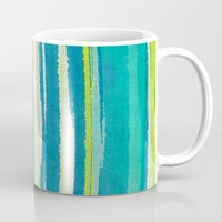 into the wild Mugs featuring Wild by Pattern Pillows