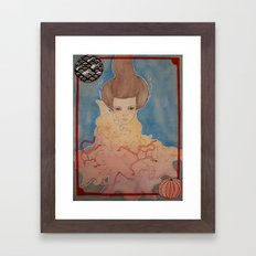 Never Knows Best : Prisoner of the Star(fishes) and Sea. Framed Art Print