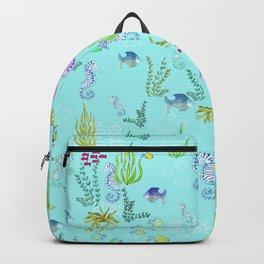 Seahorse Botanical Backpack