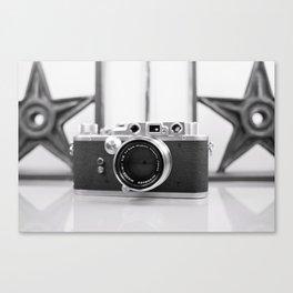 Nicca Rangefinder Camera - 1950s Canvas Print