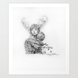 Silence and Obedience Art Print