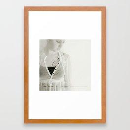 forever inexperienced Framed Art Print