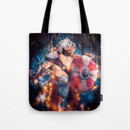 The Barbarian Color from Nordic Warriors Tote Bag