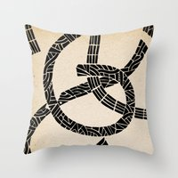 lovers Throw Pillows featuring - lovers - by Magdalla Del Fresto