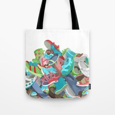 Tons of Shoes Tote Bag