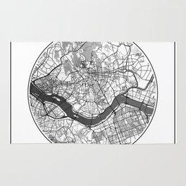 Seoul Map Universe Rug