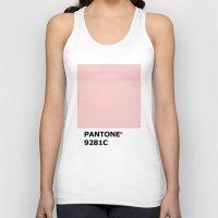 pantone Tank Tops featuring PANTONE 9281C by cvrcak