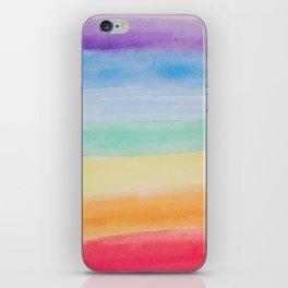 Chakra Watercolor iPhone Skin
