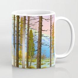 Henmi Takashi Mt. Fuji from Yamanaka Japanese Woodblock Print Vintage Historical Japanese Art Coffee Mug