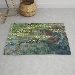 Claude Monet Le Bassin des Nympheas Rug