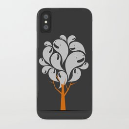 Tree Ghost iPhone Case