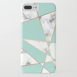 Marble Geometry 055 iPhone Case