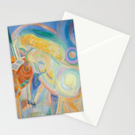 Robert Delaunay - Femme nue lisant, 1920 Stationery Cards