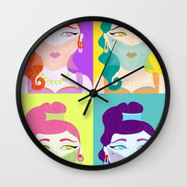 ManyGenies Wall Clock