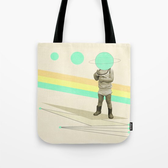 he believes he can fly Tote Bag