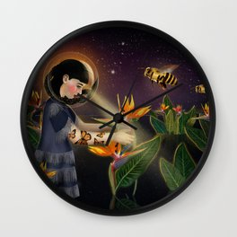 Oblivion: Anthophila lV Wall Clock