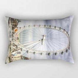 The Millennium Wheel Rectangular Pillow