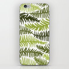Groovy Palm Green iPhone Skin