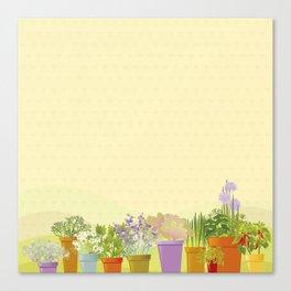My Garden. Canvas Print