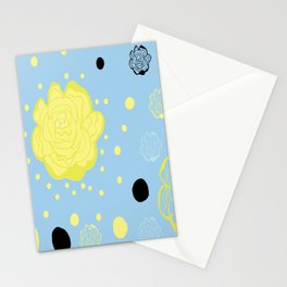 Confetti Rose Stationery Cards