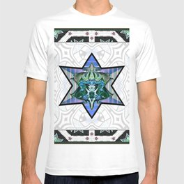 Knight shield mealic armour T-shirt
