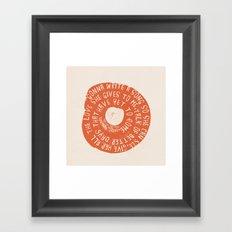 Songbird Framed Art Print