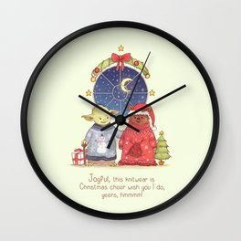 Hrm, Christmas Jumpers, yes! Wall Clock