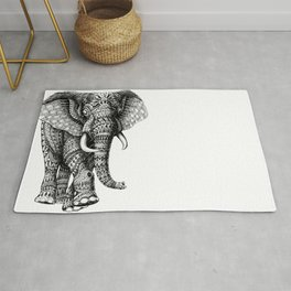 Ornate Elephant v.2 Rug