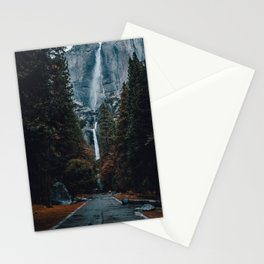 Upper and Lower Yosemite Falls Stationery Cards