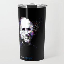Steve Jobs - Tech Heroes series Travel Mug