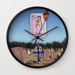 La Muerte Wall Clock