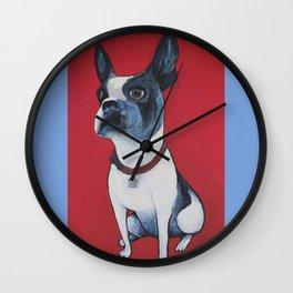 Blue Ruby Wall Clock