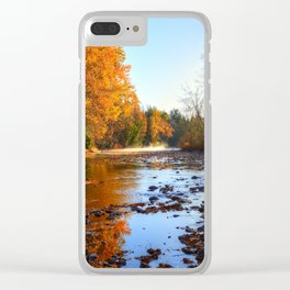Salmon Sanctuary - Adams River BC, Canada Clear iPhone Case